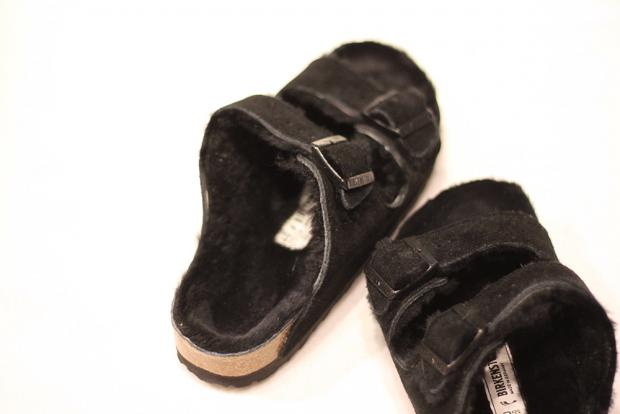 Birkenstock Sheepskin sort black