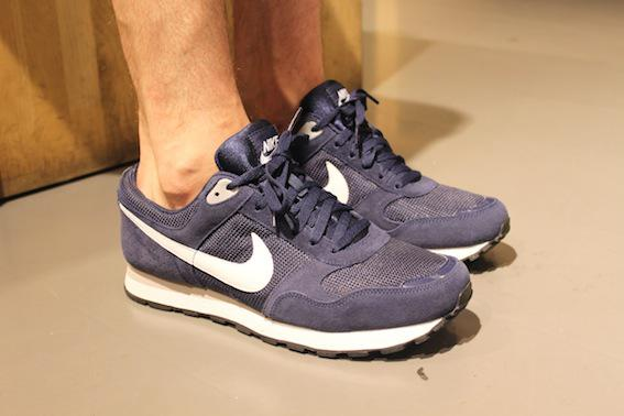 Nike Md Runner white navy