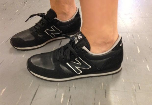 new balance sneakers joggesko sort lille vinkel sko